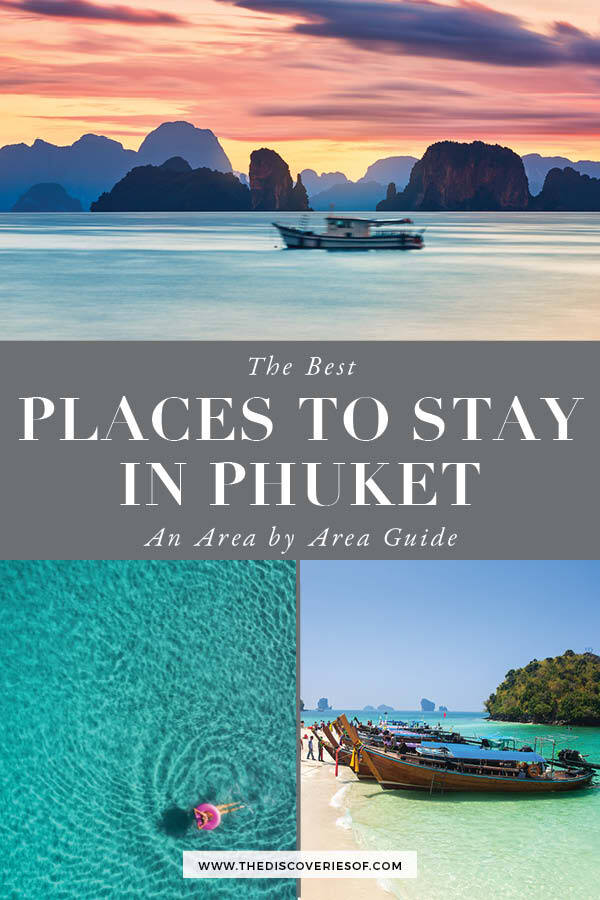 Places to Stay in Phuket Thailand