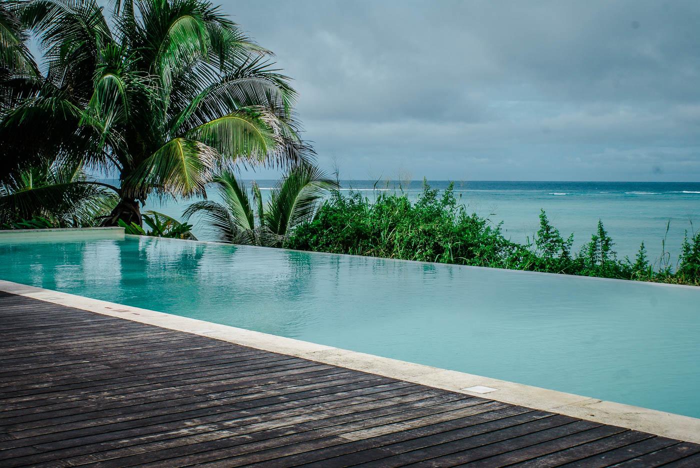 Infinity pool - Melia Zanzibar. Tanzania and Zanzibar - an exotic adventure.