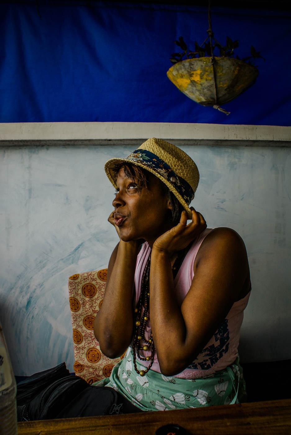 Julianna Barnaby in Zanzibar
