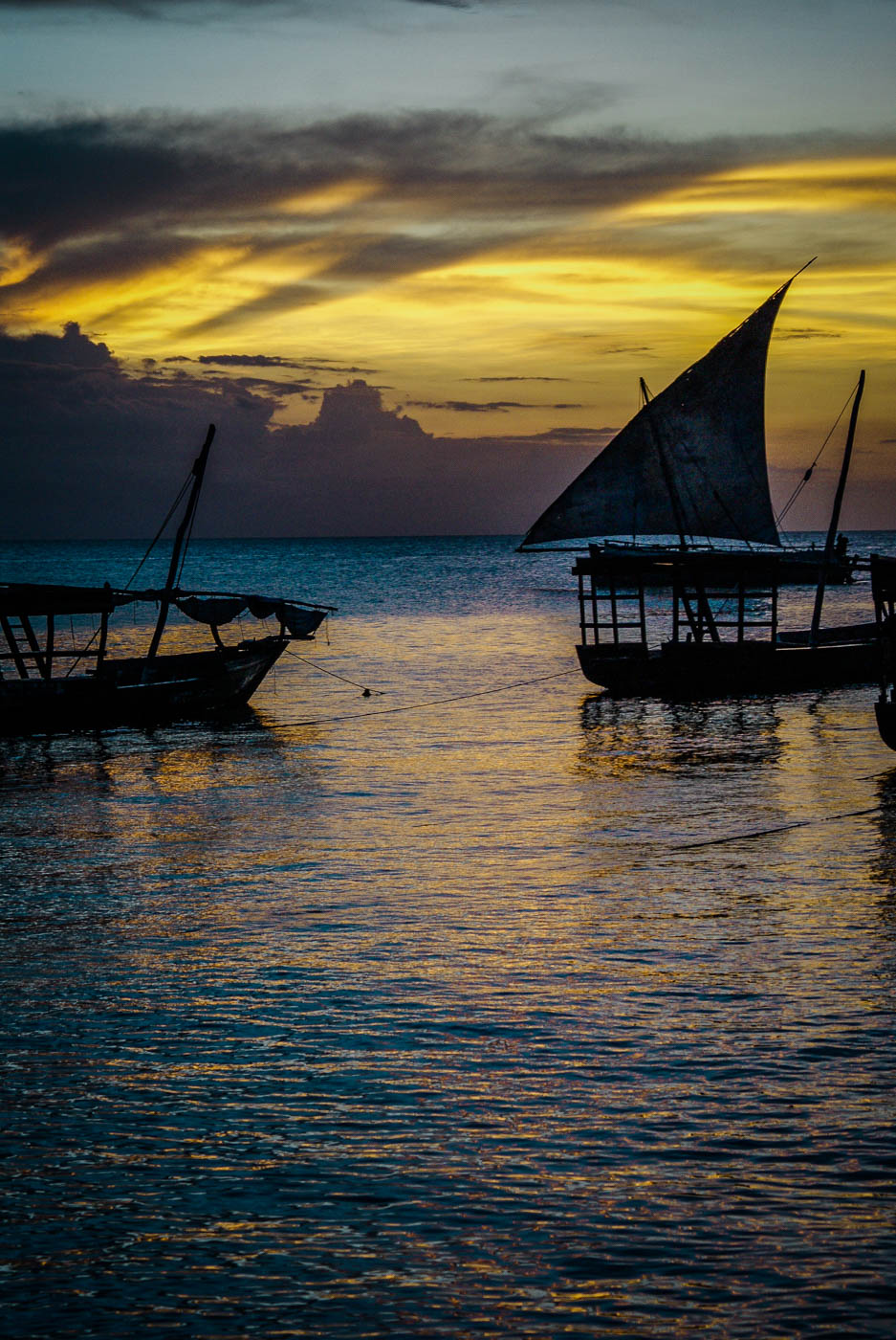 Sunset in Stone Town - Tanzania and Zanzibar - an exotic adventure. Beaches I Stone Town I Africa Travel I Dar Es Salaam #traveldestinations #traveltheworld #tanzania