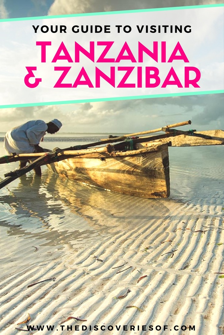 Tanzania and Zanzibar - an exotic adventure. Beaches I Stone Town I Africa Travel I Dar Es Salaam #traveldestinations #traveltheworld #tanzania
