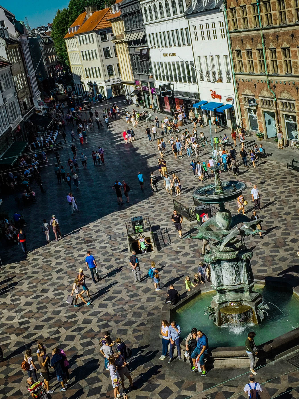Shopping on Strøget - Three Days in Copenhagen #traveldestinations #travel #denmark