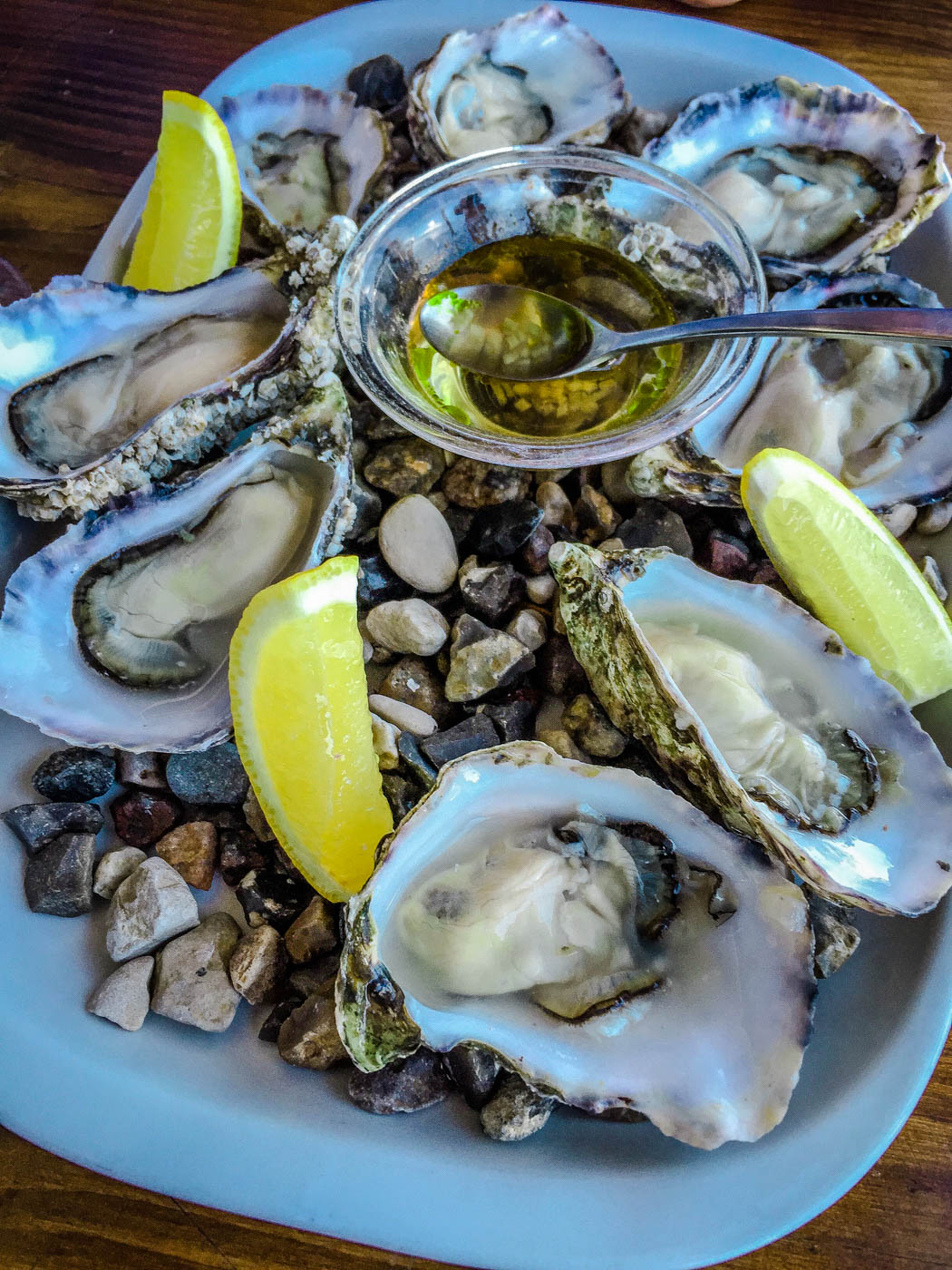 Oysters at Kodbyens Fiskebar - Three Days in Copenhagen #traveldestinations #travel #denmark