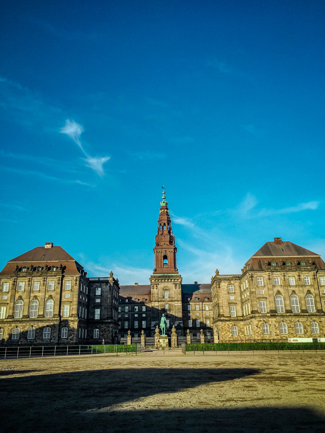 Christiansborg Palace - Three Days in Copenhagen #traveldestinations #travel #denmark