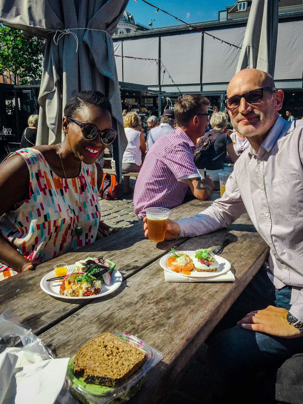 Lunch in Torvehallene - Three Days in Copenhagen #traveldestinations #travel #denmark