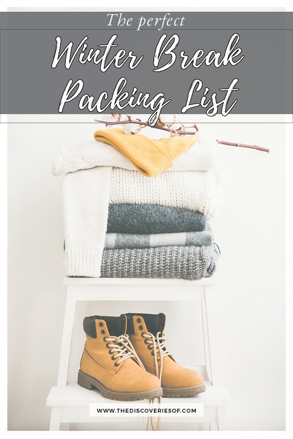 Winter Packing List - Everything you need for your winter city break. Check it out #travel #packinglist #winter