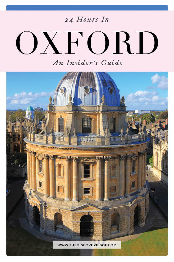 24 Hours in Oxford
