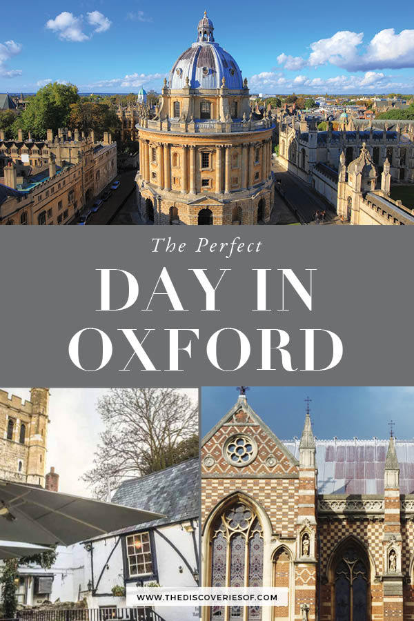 Oxford in a Day