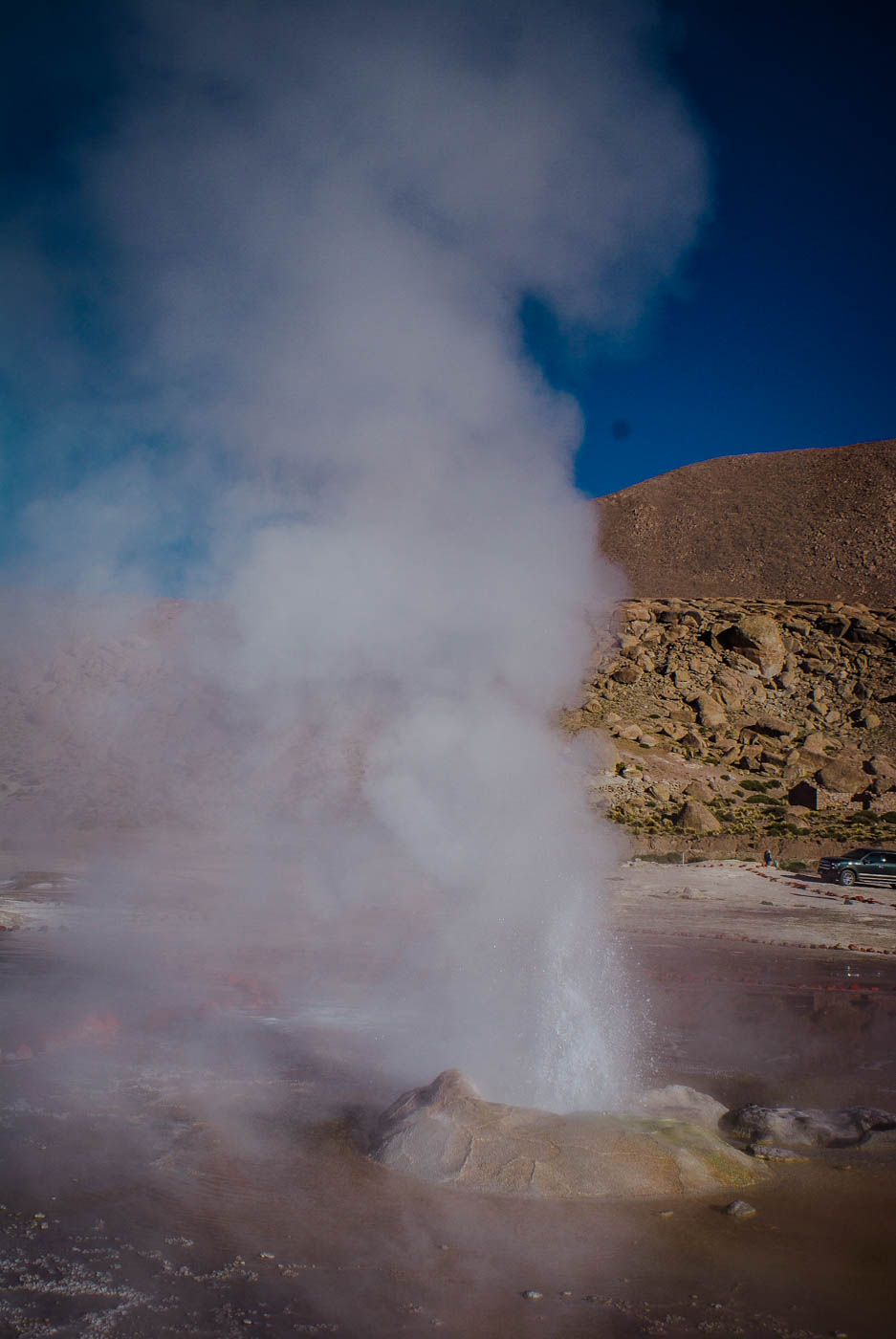 El Tatio Geysers South America Travel Bucket List. 90 Awesome Things to do in South America When Backpacking and Travelling #southamerica #bucketlist #traveldestinations