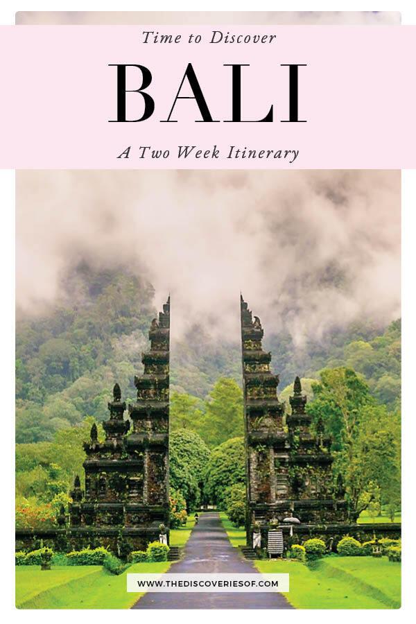 2 Weeks in Bali