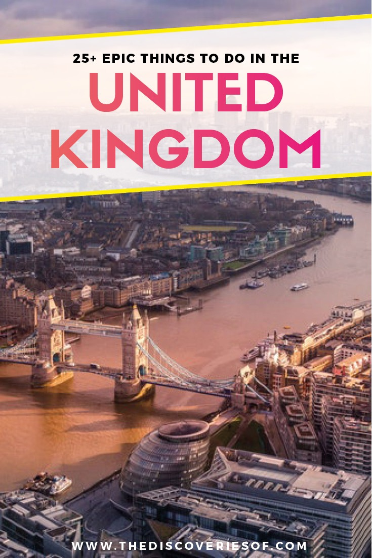 26 Unmissable United Kingdom Travel Destinations. The Ultimate Great Britain bucket list. London, Cornwall, Scotland and much more. Plus insider tips. Read now #traveldestinations #unitedkingdom #bucketlist #travel