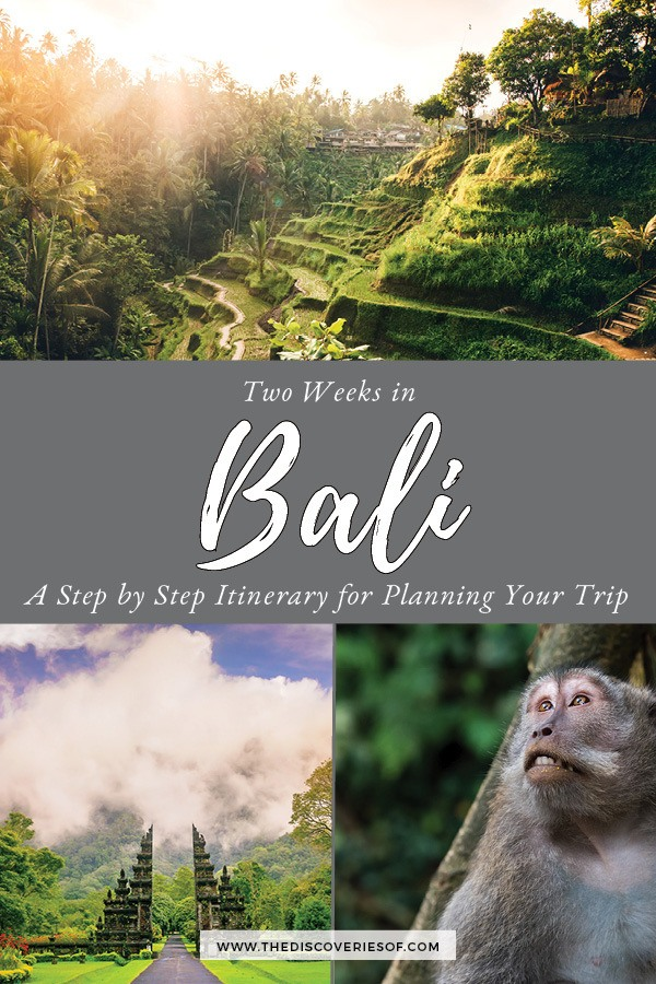 Things to do in Bali in Two Weeks #travel