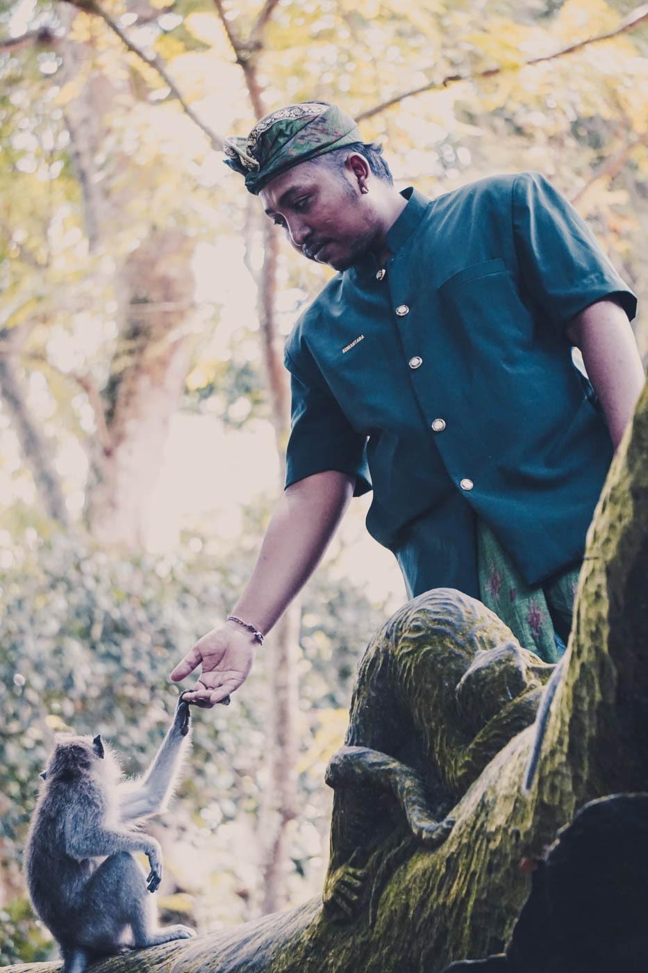 Ubud Monkey Forest - Bali Itinerary #traveldestinations #bali #beautifulplaces