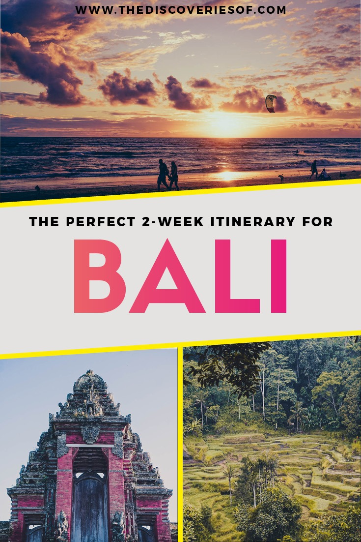 The Perfect 2 Weeks in Bali Itinerary