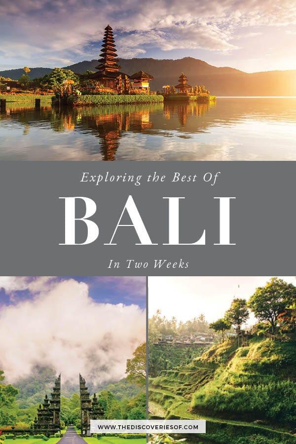 Bali in 2 weeks