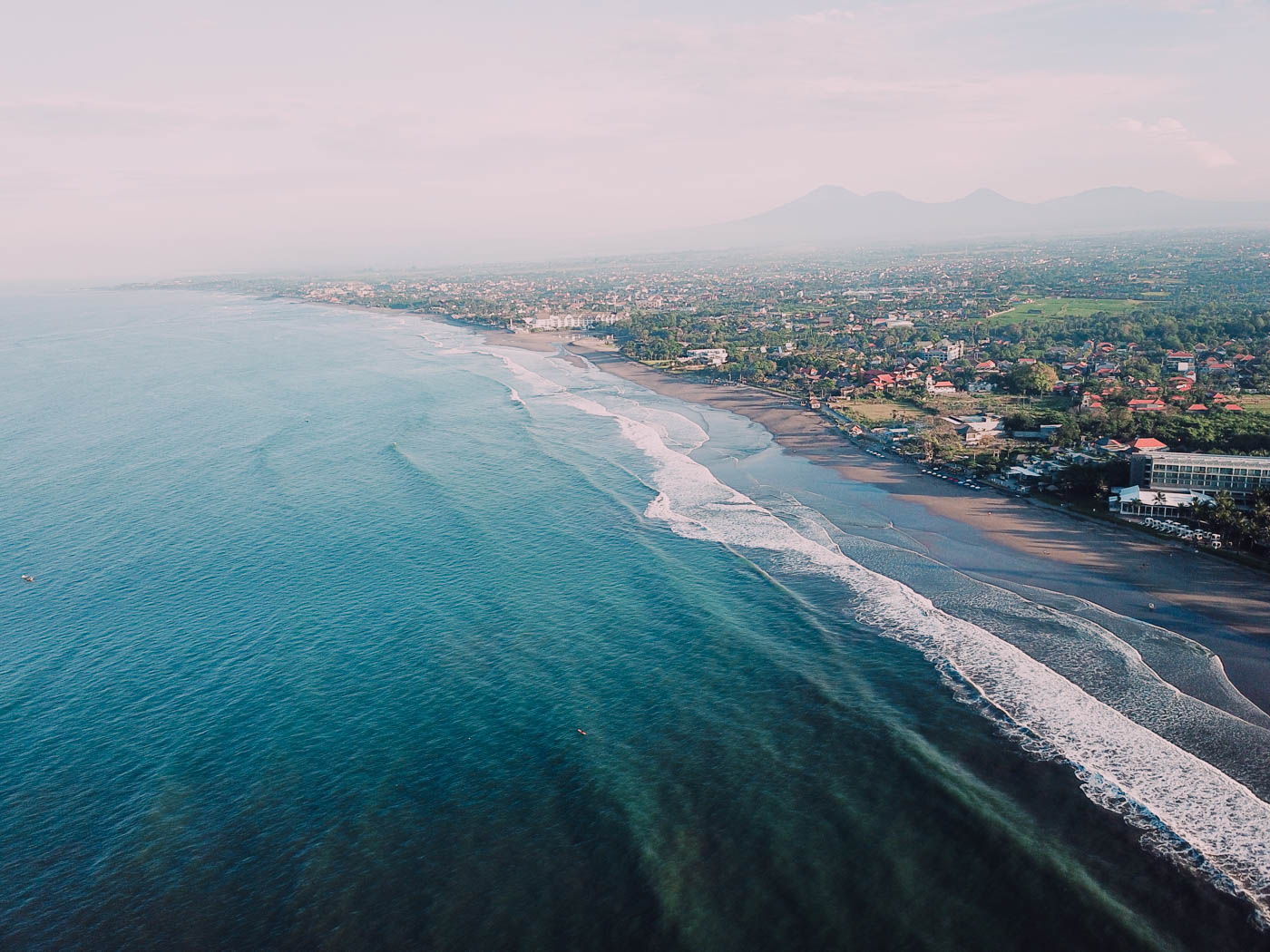 Seminyak Beach #bali #indonesia #drone