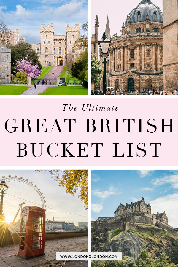 British Bucket List