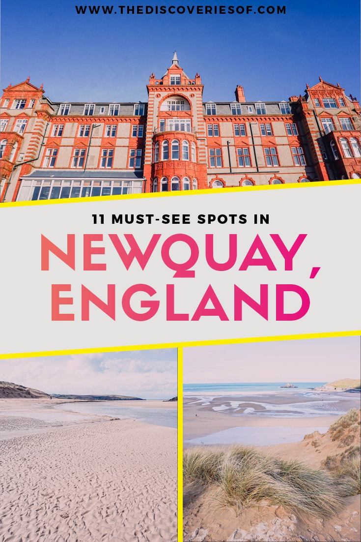 Cornwall, England. 11 things to do in Newquay I Beach I Surfing I Travel I UK I Fistral #travel #traveldestinations #cornwall #england