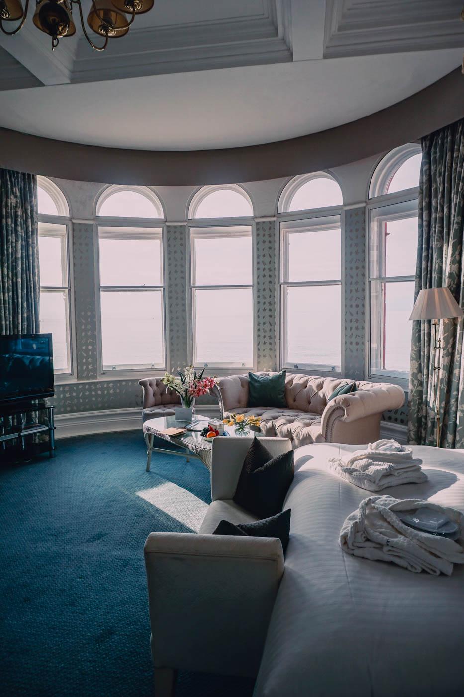 Rooms at The Headland Hotel, Cornwall