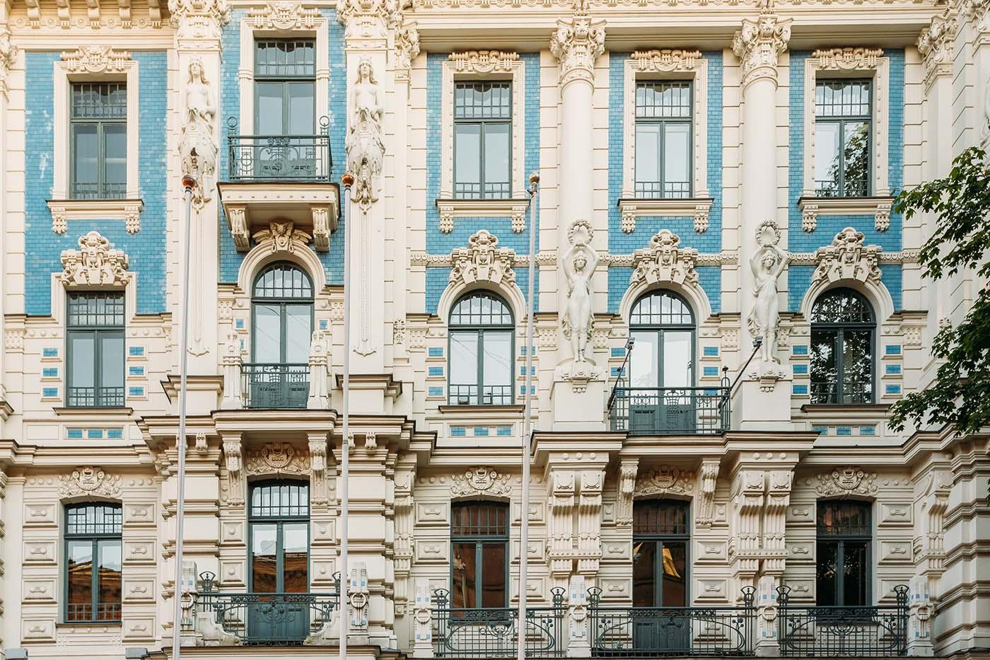 Art Nouveau Building - Riga