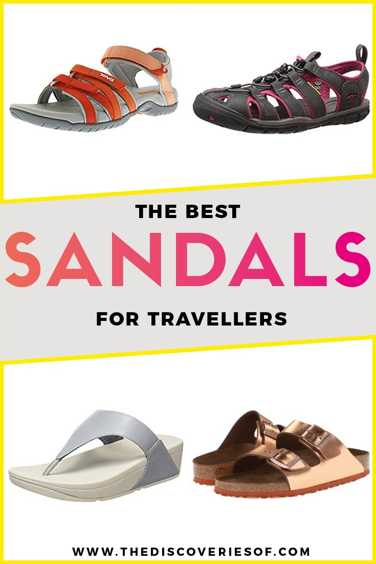 Backpacking outfits + hiking gear can be tough. Ditch the hiking boots and take your pick from these women's walking sandals. Ultimate style and comfort #hiking #travelgear #backpacking #traveltips