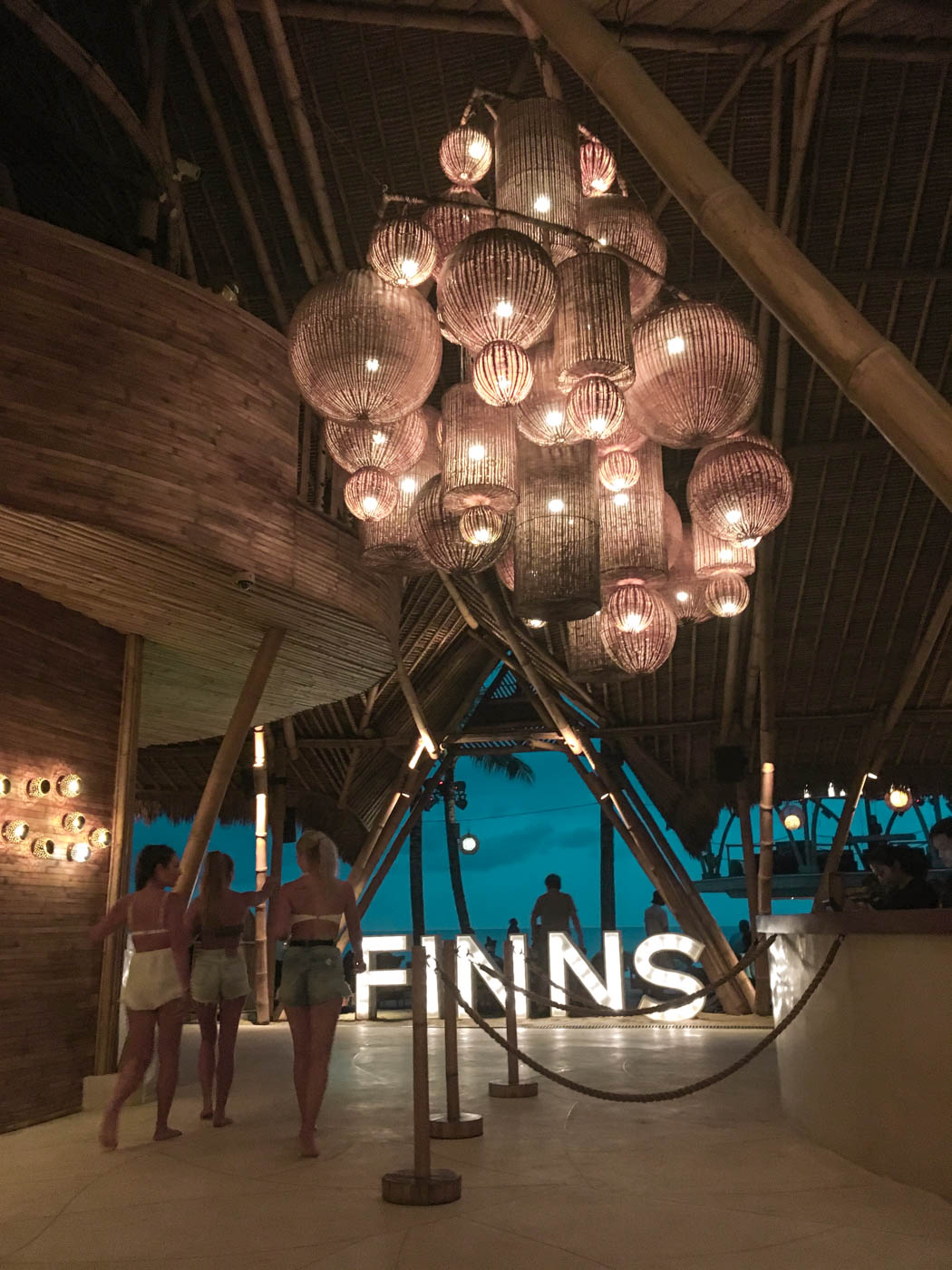 Finns Beach Club on the Batu Belig side of Canggu