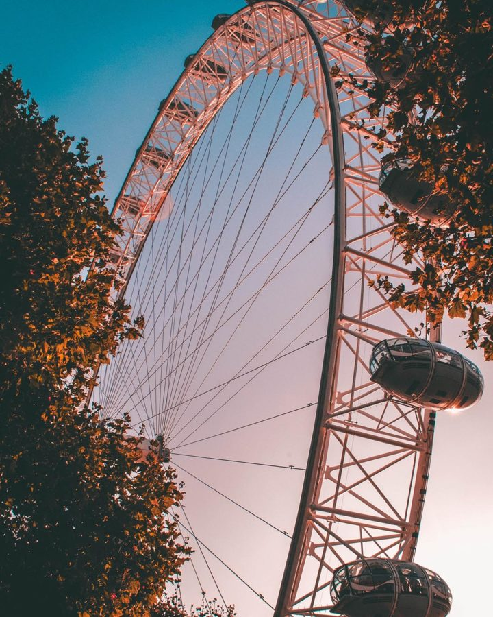 London Eye, London Itinerary
