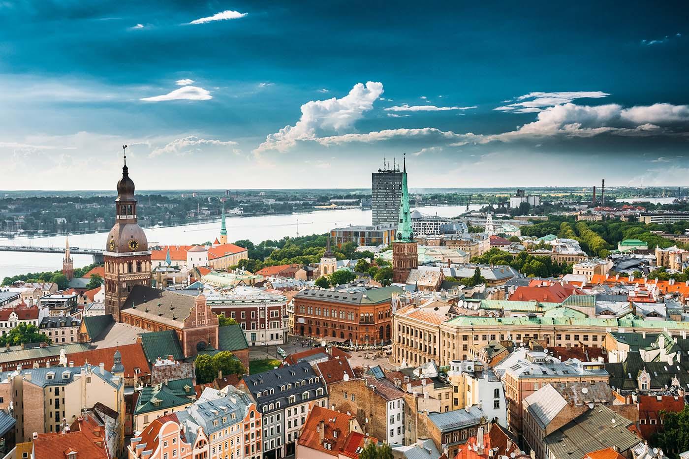 Riga cityscape - Latvia