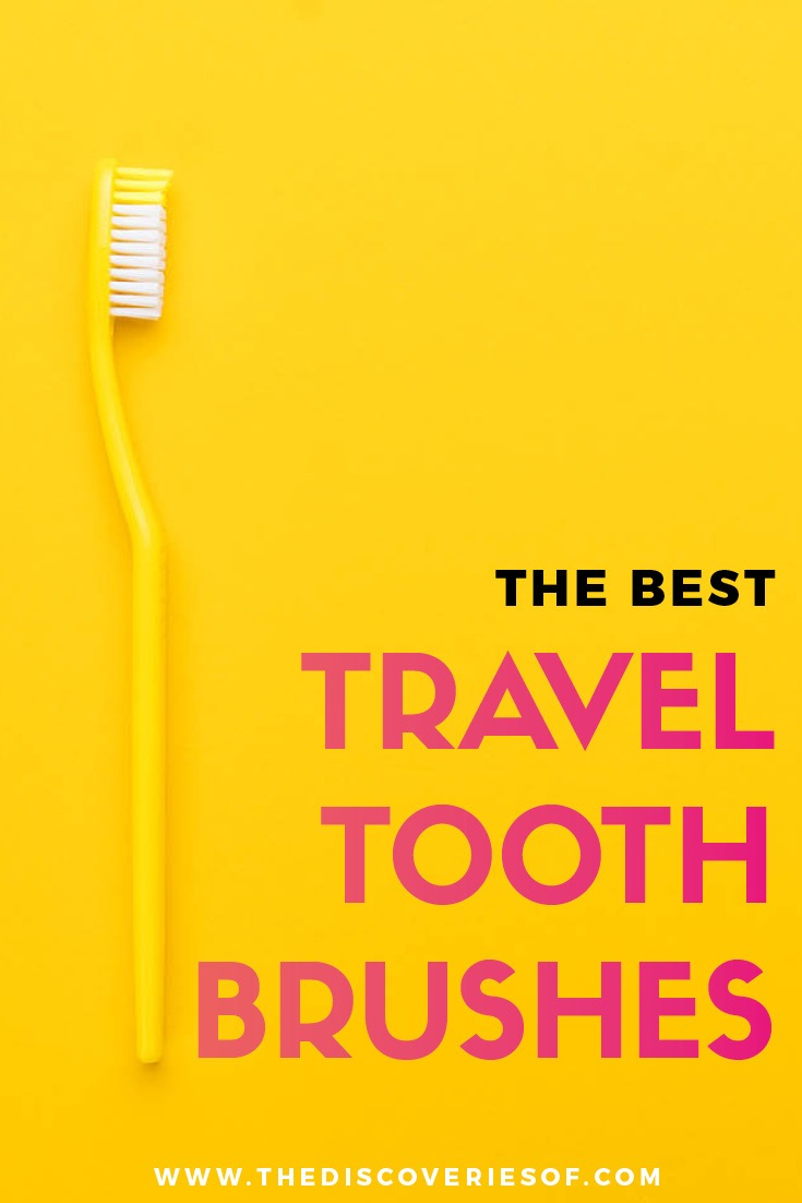 Travel Toothbrushes are an essential part of travel gear I The best travel products and accessories for your carry on luggage. Read now #travelgear #travel #packing #toiletries