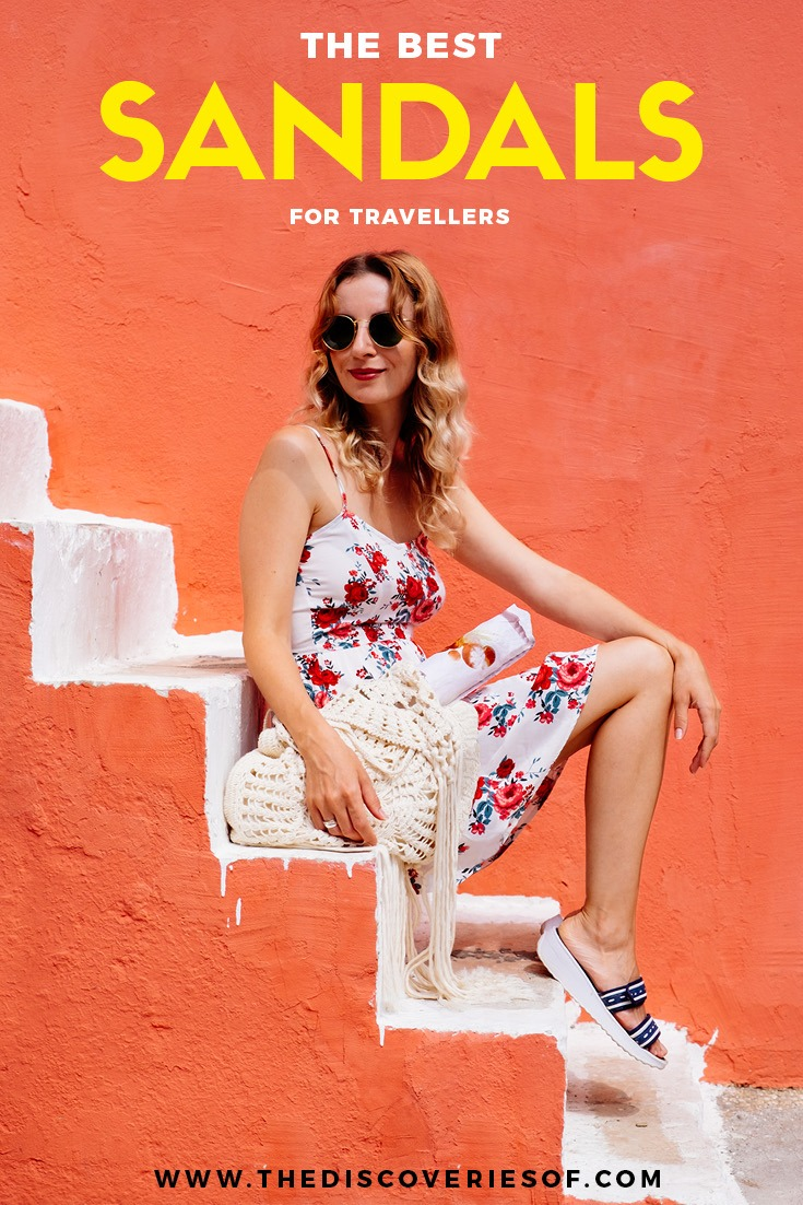 Travel outfits and hiking gear can be tough choices. Ditch the hiking boots and take your pick from these women's sandals. Ultimate style and comfort #hiking #travelgear #traveltips