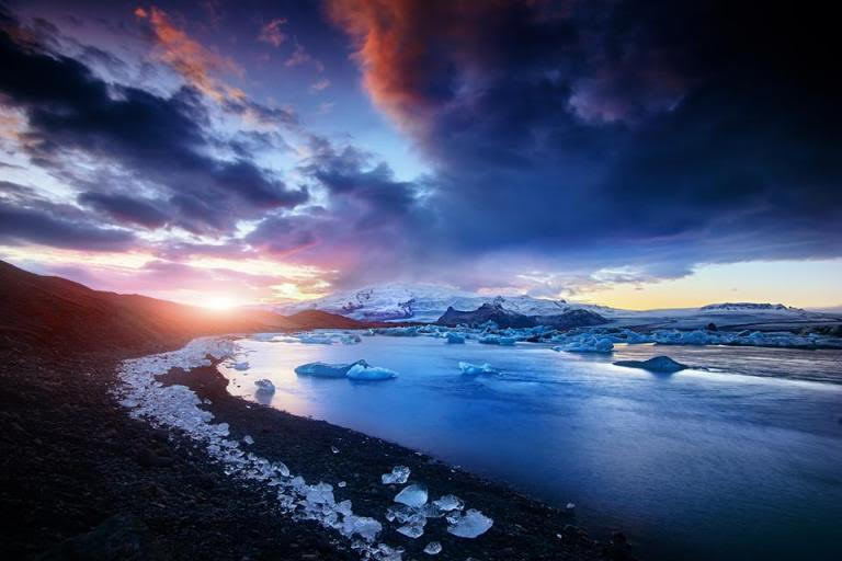 Diamond Beach, Iceland - Victoria Yore