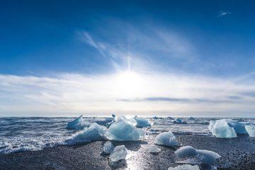 jokulsarlon beach, glacier diamond beach iceland