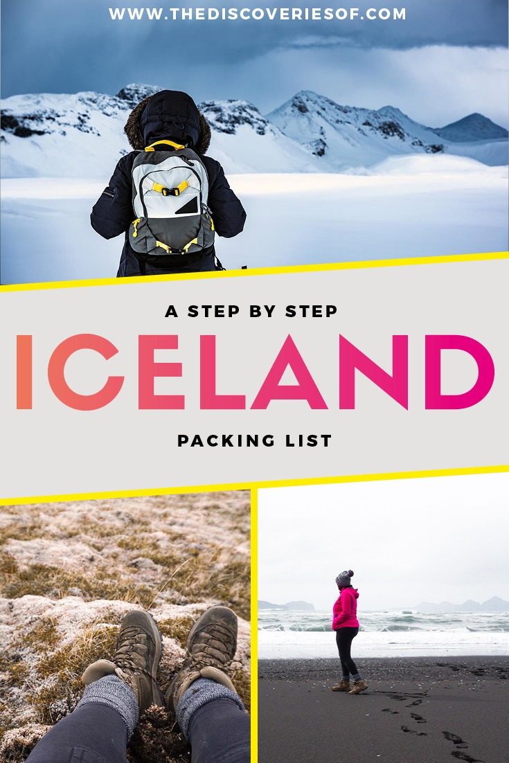 Iceland Packing List 2