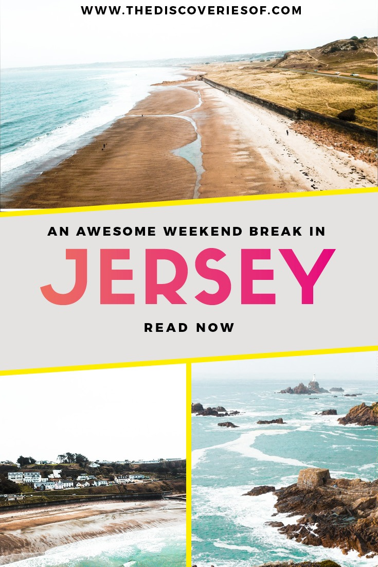 Jersey weekend break header image