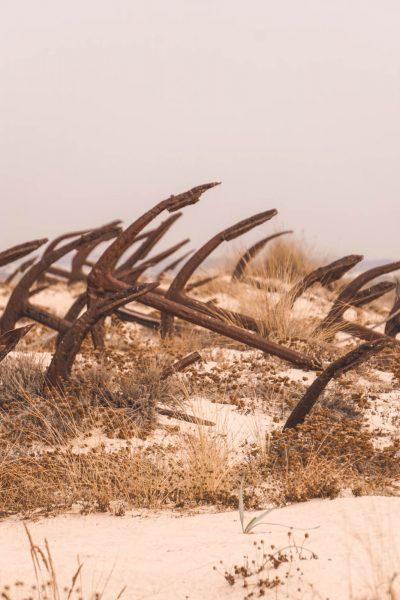Anchor Cemetery Praia do Barril