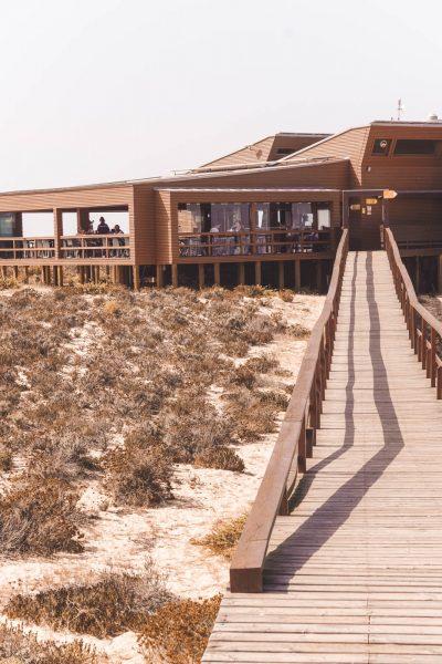 Estamine, Ilha Deserta