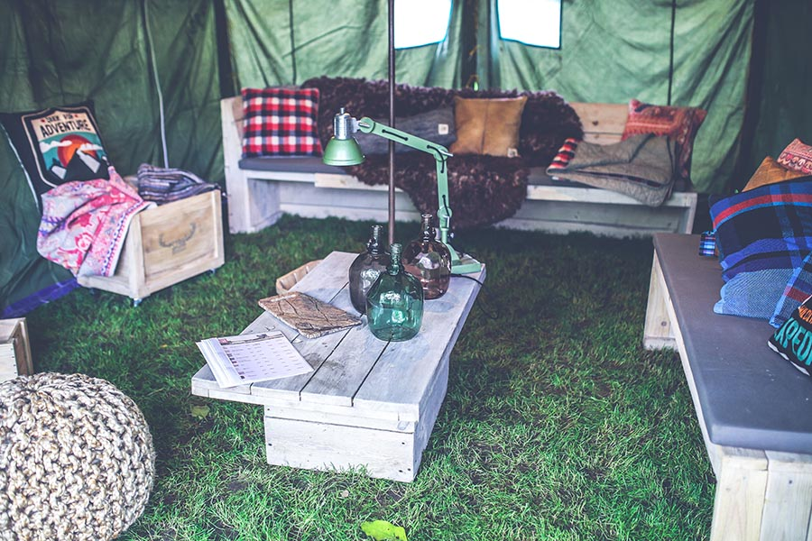 music festivals camping