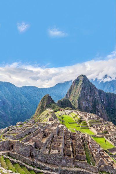 Machu Picchu, South America