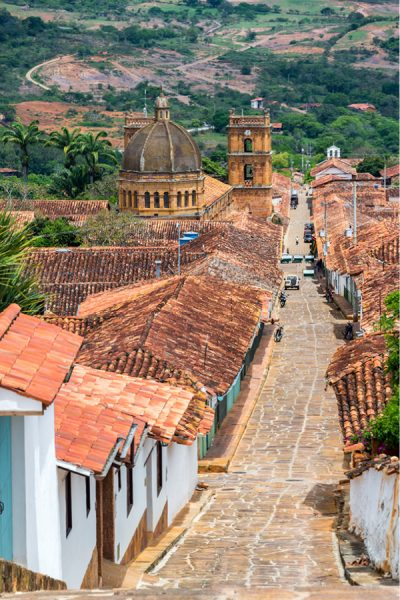 Small town in colombia
