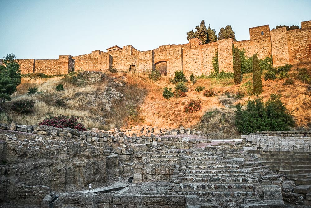 Malaga Alcazaba and Roman Theatre