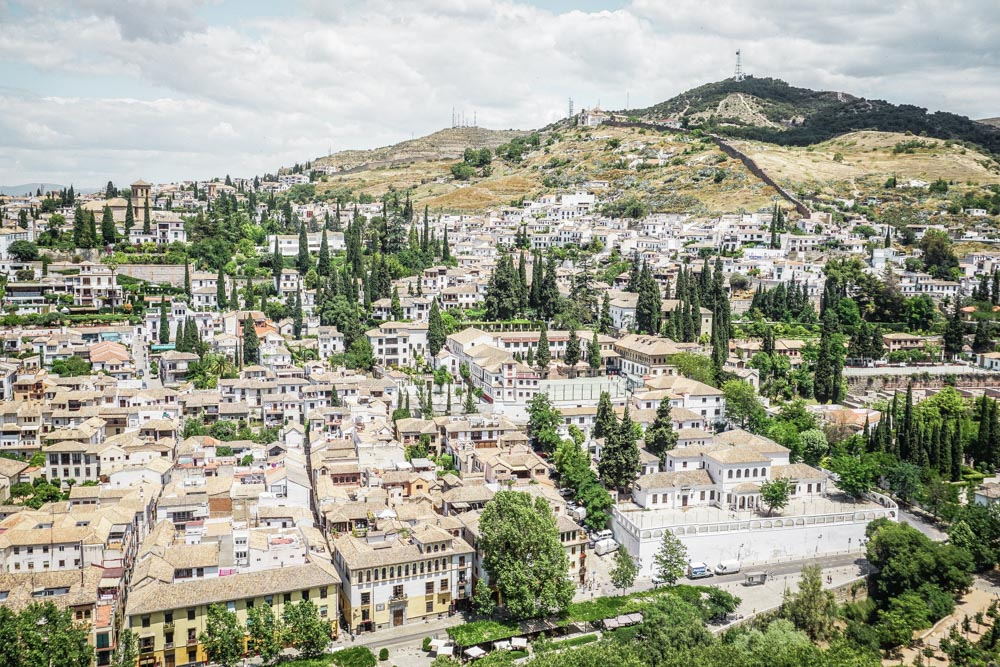 Views over Granada