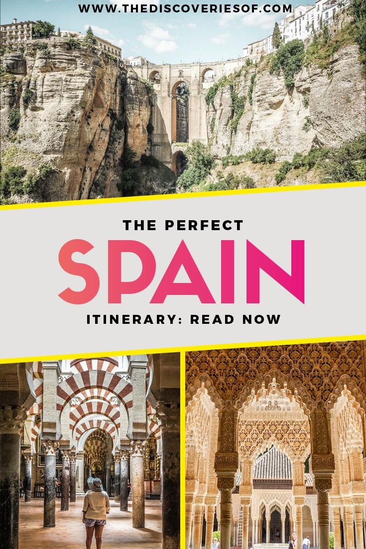 Spain Itinerary