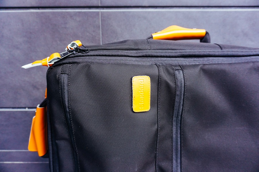 Standard Luggage Co. Bag - Close Up