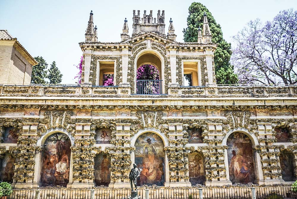 Visiting the Alcazar of Seville