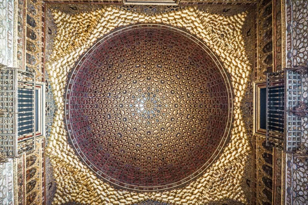 The dome in the Ambassador's Room, Alcazar Seville
