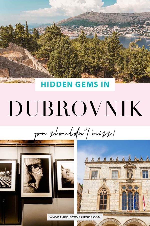 Dubrovnik Hidden Gems