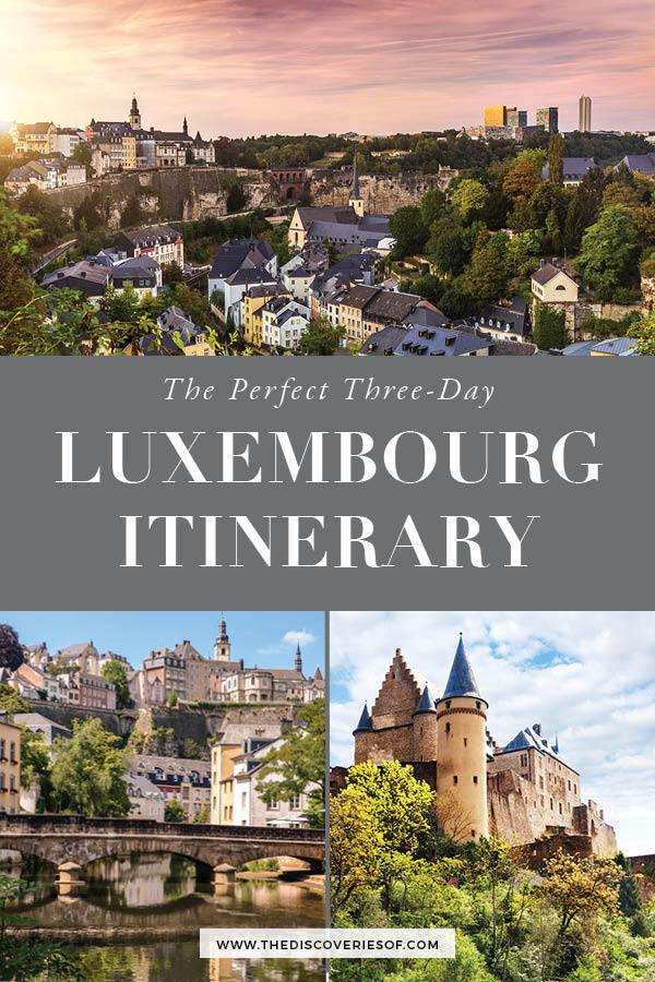 Luxembourg Itinerary