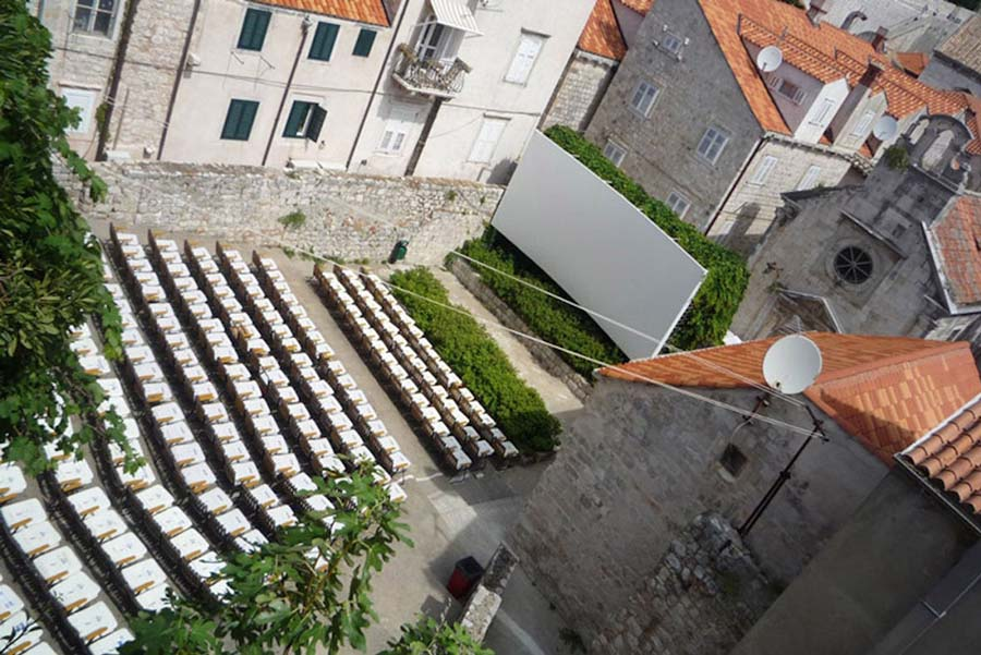 jadran open air cinema-image courtesy of official croatian independent cinemas network