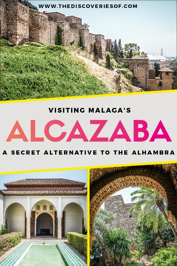 Alcazaba Malaga. Malaga, Spain might be best known as a beach destination, but visitor's shouldn't miss the gorgeous Alcazaba palace. Hands down the best thing to do during your travels to Malaga. Here's why... #spain #europe #traveltips