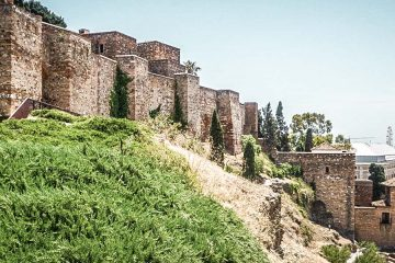 Visiting the Alcazaba in Malaga